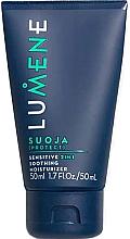 Düfte, Parfümerie und Kosmetik Beruhigende und feuchtigkeitsspendende Gesichtscreme für empfindliche Haut - Lumene Men Suoja Sensitive 2in1 Soothing Moisturizer