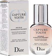 Düfte, Parfümerie und Kosmetik Antioxidative Augenpflege - Dior Capture Youth Age-Delay Advanced Eye Treatment