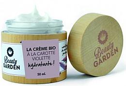 Düfte, Parfümerie und Kosmetik Feuchtigkeitsspendende Gesichtscreme mit lila Karottenextrakt - Beauty Garden Violet Carrot Face Cream