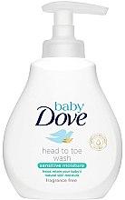 Düfte, Parfümerie und Kosmetik Gel-Shampoo für Babys - Dove Baby Sensitive Moisture Head to Toe Wash