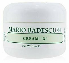 Düfte, Parfümerie und Kosmetik Gesichtscreme für trockene Haut - Mario Badescu Cream X