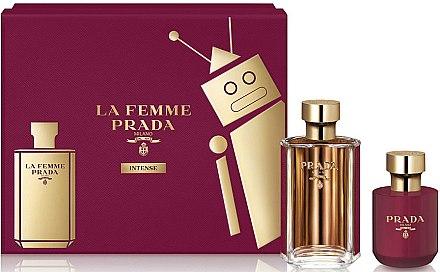 Prada La Femme Intense - Duftset (Eau de Parfum 100ml + Körperlotion 100ml) — Bild N1