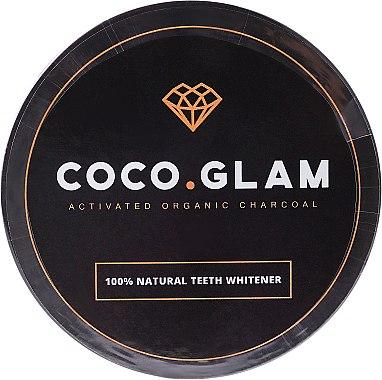 100% Natürliches aufhellendes Zahnpulver mit Aktivkohle - Coco Glam — Bild N1