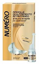 Düfte, Parfümerie und Kosmetik Nährende Haarlotion mit Sheabutter - Brelil Numero Nourishing Vials For Hair With Shea Butter