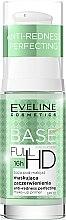 Düfte, Parfümerie und Kosmetik Eveline Cosmetics Full HD Make Up Base Anti Redness Perfecting Primer SPF10 - Langanhaltender Primer gegen Rötungen LSF 10