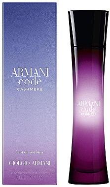 Giorgio Armani Armani Code Cashmere - Eau de Parfum  — Bild N2
