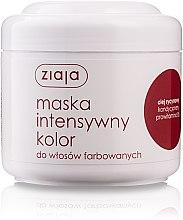 """Düfte, Parfümerie und Kosmetik Haarmaske für coloriertes Haar """"Intensive Farbe"""" - Ziaja Mask"""