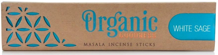 Duftstäbchen Weißer Salbei - Song Of India Organic Goodness White Sage — Bild N1