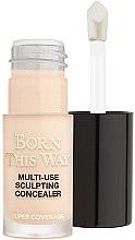 Düfte, Parfümerie und Kosmetik Gesichts-Concealer - Too Faced Born This Way Multi-Use Sculpting Concealer (Mini)