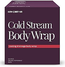 Düfte, Parfümerie und Kosmetik Kühlende Körperdrainage mit Meeresschlamm, organischem Pfefferminz und Moos - Natura Siberica Fresh Spa Kam-Chat-Ka Cold Stream Body Wrap
