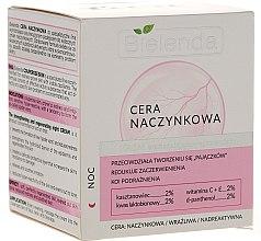 Düfte, Parfümerie und Kosmetik Stärkende und regenerierende Nachtcreme für Kapillarhaut - Bielenda Capillary Skin Face Cream