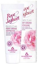 Düfte, Parfümerie und Kosmetik Aufweichende Fußcreme - Bulgarian Rose Rose & Joghurt Foot Cream