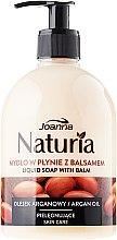 Düfte, Parfümerie und Kosmetik Flüssige Handseife mit Arganöl - Joanna Naturia Argan Oil Liquid Soap