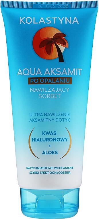 Feuchtigkeitsspendender After Sun Körpersorbet mit Aloe Vera und Hyaluronsäure - Kolastyna Sun Care
