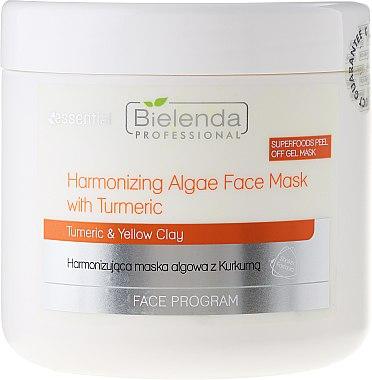 Regenerierende Kurkuma-Gesichtsmaske für strahlende Haut - Bielenda Professional Face Program Harmonizing Algae Face Mask With Turmeric — Bild N1