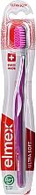 Düfte, Parfümerie und Kosmetik Zahnbürste ultra weich Swiss Made grau-violett - Elmex Swiss Made Ultra Soft Toothbrush