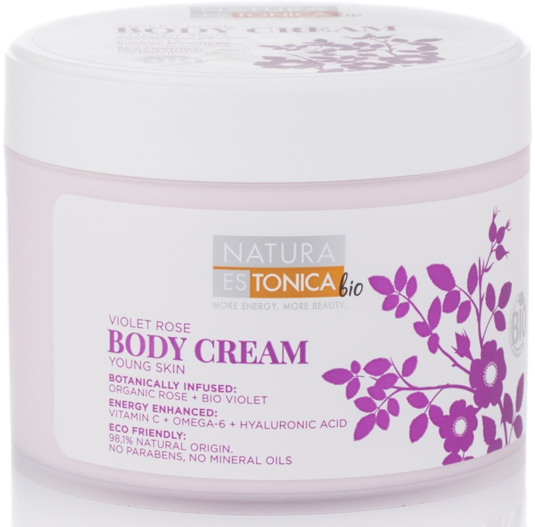 Körpercreme Violet Rose - Natura Estonica Violet Rose Body Cream