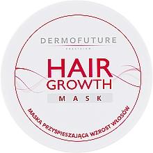 Düfte, Parfümerie und Kosmetik Maske zur Stimulierung das Haarwachstums - DermoFuture Hair Growth Mask