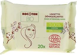 Düfte, Parfümerie und Kosmetik Bio-Feuchttücher zum Abschminken - Bocoton Bio Hydra