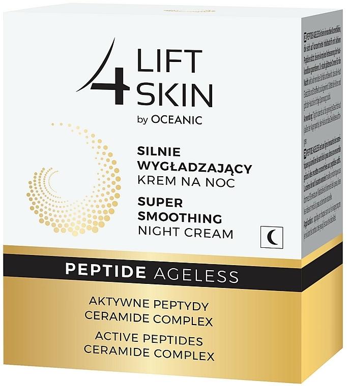 Intensiv glättende Nachtcreme für das Gesicht mit aktiven Peptiden und Ceramide-Komplex - Lift4Skin Peptide Ageless Night Cream — Bild N4