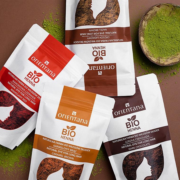 Bio-Henna für kurze Haare - Orientana Bio Henna Natural For Short Hair — Bild N3