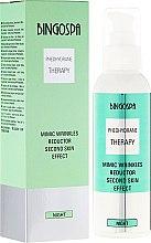 Düfte, Parfümerie und Kosmetik Nachtcreme gegen Mimikfalten mit Pheohydranen - BingoSpa Mimic Wrinkles Reductor Second Skin Effect