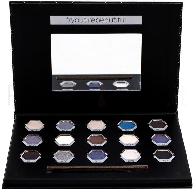 Lidschatten-Palette - Cosmetic 2K Polygon Eyeshadow Palette — Bild N2