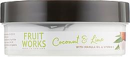 Körperbutter mit Kokosnuss und Limette - Grace Cole Fruit Works Body Butter Coconut & Lime — Bild N3