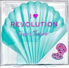 Düfte, Parfümerie und Kosmetik Lidschattenpalette - I Heart Revolution Ocean's Treasure Palette