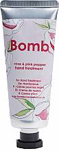 Düfte, Parfümerie und Kosmetik Handcreme Rose & Pink Pepper - Bomb Cosmetics Rose & Pink Pepper Hand Treatment