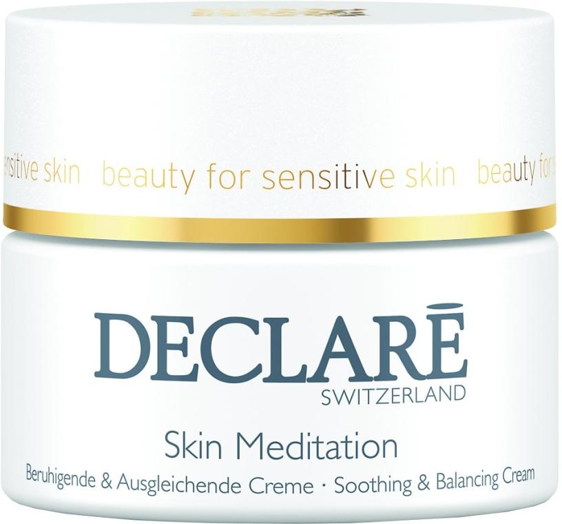 Beruhigende und ausgleichende Gesichtscreme - Declare Skin Meditation Soothing & Balancing Cream — Bild N1
