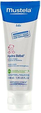 Feuchtigkeitsspendende Gesichtscreme für Babys und Kinder - Mustela Hydra Bebe Visage — Bild N2