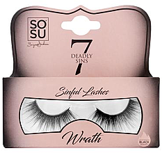 Düfte, Parfümerie und Kosmetik Künstliche Wimpern Wrath - Sosu by SJ 7 Deadly Sins False Lashes Wrath