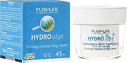 Düfte, Parfümerie und Kosmetik Straffende feuchtigkeitsspendende Gesichtscreme für Tag und Nacht mit Algenextrakt 45+ - Floslek Hydro Alga 45+