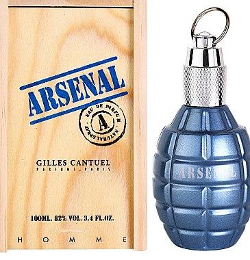 Gilles Cantuel Arsenal Blue - Eau de Parfum — Bild N1