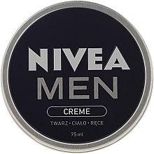 Gesichtspflegeset für Männer - Nivea Men Sensitive Elegance (Rasierschaum 200ml + After Shave Balsam 100ml + Deospray 50ml + Gesichtscreme 75ml) — Bild N5