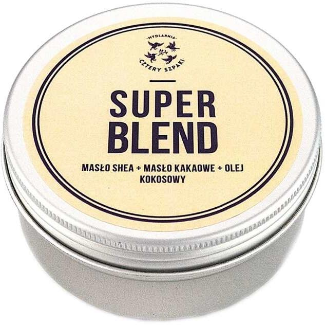 Körperbutter mit Shea, Kakao und Kokosnuss Super Blend - Cztery Szpaki — Bild N1