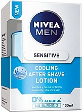 Düfte, Parfümerie und Kosmetik Kühlende After Shave Lotion - Nivea Men Sensitive Cooling After Shave Lotion