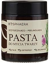 Düfte, Parfümerie und Kosmetik Reinigende Peelingpaste für das Gesicht - Bosphaera