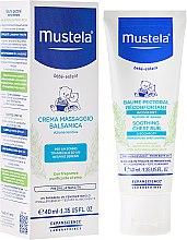 Düfte, Parfümerie und Kosmetik Beruhigende und feuchtigkeitsspendende Kindercreme für Brustmassage - Mustela Soothing Chest Rub