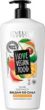Düfte, Parfümerie und Kosmetik Körperbalsam mit Mango- und Avocadoextrakt - Eveline I Love Vegan Food Body Balm