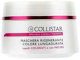 Düfte, Parfümerie und Kosmetik Haarmaske für coloriertes Haar - Collistar Regenerating Long Lasting Colour Mask