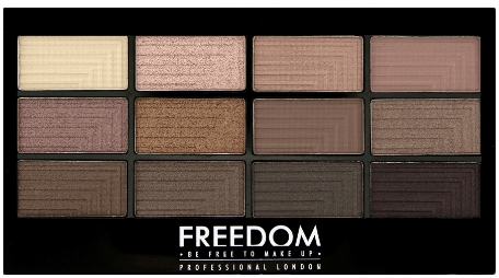 Lidschatten-Palette - Freedom Makeup London Pro Eyeshadow Palette — Bild N1