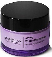 Düfte, Parfümerie und Kosmetik Aufhellende Gesichtscreme mit Kojisäure - Priody Active Whitening Cream