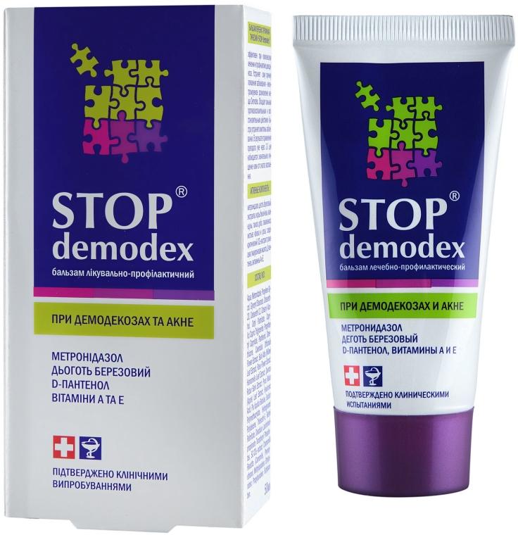 Heilbalsam gegen Akne mit Birkenteer, Metronidazol und Vitaminen - PhytoBioTechnologien Stop Demodex