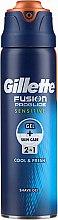 Düfte, Parfümerie und Kosmetik 2in1 Rasiergel für empfindliche Haut - Gillette Fusion ProGlide Sensitive Cool & Fresh Shave Gel