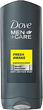 Düfte, Parfümerie und Kosmetik Erfrischendes Duschgel für Körper und Gesicht - Dove Fresh Awake Shower Gel