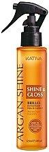 Düfte, Parfümerie und Kosmetik Glättendes Haarspray mit Arganöl - Kativa Argan Shine & Gloss