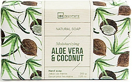 Düfte, Parfümerie und Kosmetik Natürliche feuchtigkeitsspendende Handseife mit Aloe- und Kokosduft - IDC Institute Moisturizing Hand Natural Soap Aloe Vera & Coconut