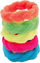 Düfte, Parfümerie und Kosmetik Haargummi mehrfarbig 5 St. - IDC Institute Design Hair Bands Pack